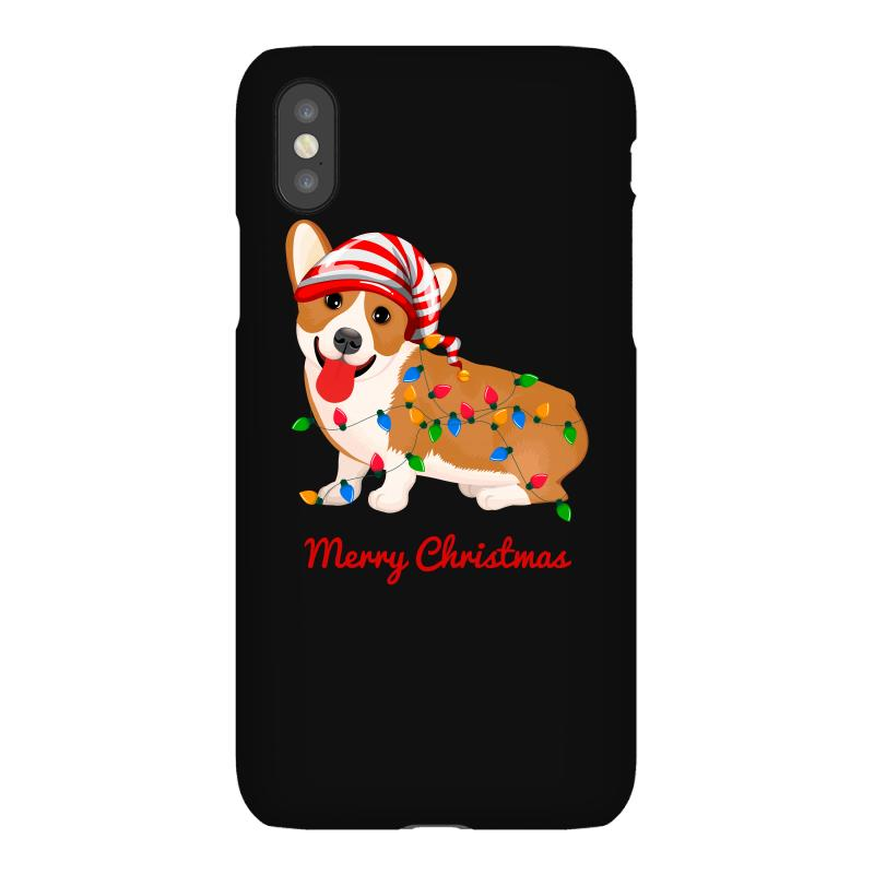 Merry Christmas Santa Claus Dog Iphonex Case | Artistshot