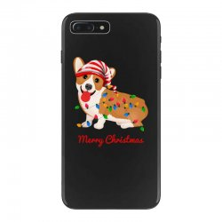 merry christmas santa claus dog iPhone 7 Plus Case | Artistshot