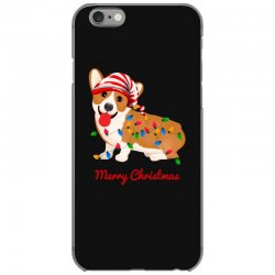 merry christmas santa claus dog iPhone 6/6s Case | Artistshot
