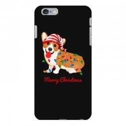 merry christmas santa claus dog iPhone 6 Plus/6s Plus Case | Artistshot
