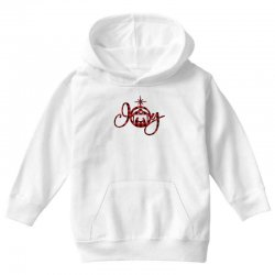 joy with christmas nativity for light Youth Hoodie | Artistshot
