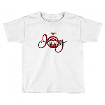 Joy With Christmas Nativity For Light Toddler T-shirt Designed By Gurkan