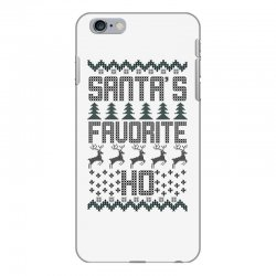 santa's favorite ho for light iPhone 6 Plus/6s Plus Case | Artistshot