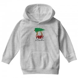 merry little christmas for light Youth Hoodie | Artistshot