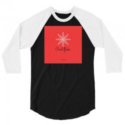 Winter special edition ,be a cool flake unique and beautiful. 3/4 Sleeve Shirt | Artistshot