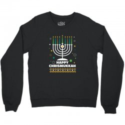 happy chrismukkah hanukkah and christmas Crewneck Sweatshirt | Artistshot