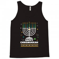 happy chrismukkah hanukkah and christmas Tank Top | Artistshot