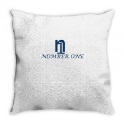 nomber one Throw Pillow | Artistshot