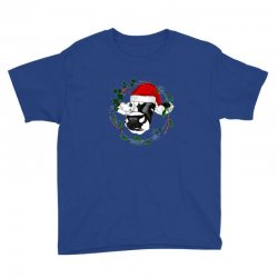 christmas cute cow Youth Tee | Artistshot