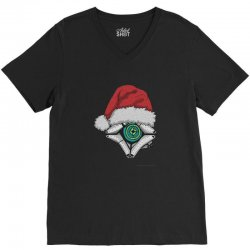 christmas ghost 1 V-Neck Tee | Artistshot