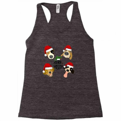 Christmas Puppies Racerback Tank Designed By Acoy