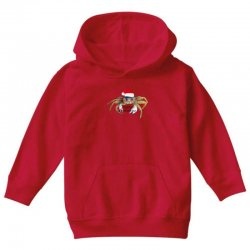 crabby christmas,hapy holidays Youth Hoodie   Artistshot