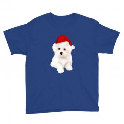 cute bolognese dog Youth Tee | Artistshot