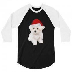cute bolognese dog 1 3/4 Sleeve Shirt | Artistshot