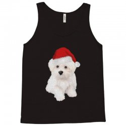 cute bolognese dog 1 Tank Top | Artistshot
