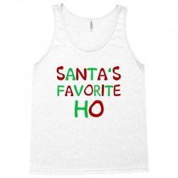santa's favorite ho awesome Tank Top | Artistshot