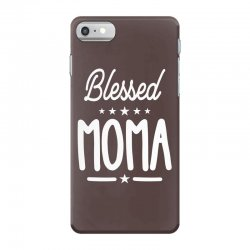 Blessed Moma - Mother's Day Grandma Gift iPhone 7 Case | Artistshot