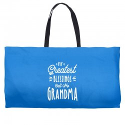 My Greatest Blessings Call Me Grandma Gift Weekender Totes | Artistshot