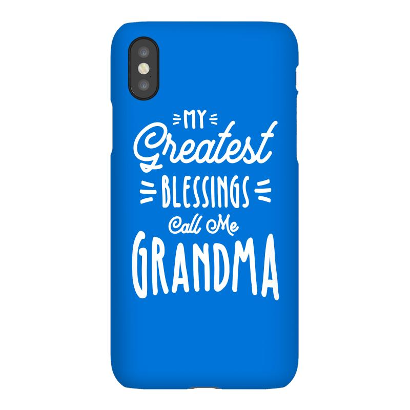 My Greatest Blessings Call Me Grandma Gift Iphonex Case | Artistshot