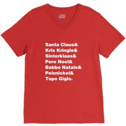 the claus V-Neck Tee | Artistshot