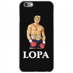 lopa leave our president alone donald trump 2020 iPhone 6/6s Case | Artistshot