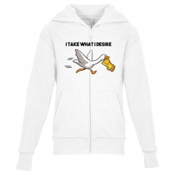 gauntlet goose Youth Zipper Hoodie | Artistshot