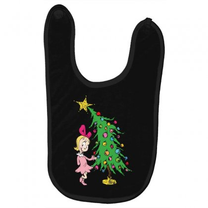 I've Been Cindy Lou Who Good Baby Bibs Designed By Mirazjason