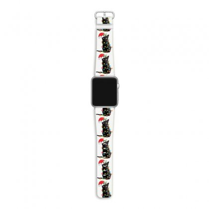 Funny Christmas Cat Apple Watch Band Designed By Mirazjason