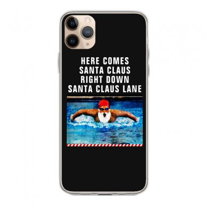 Swimming Christmas For Dark Iphone 11 Pro Max Case Designed By Mirazjason