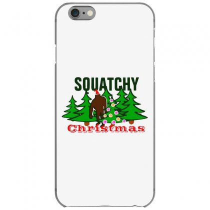 Squatchy Christmas Iphone 6/6s Case Designed By Mirazjason