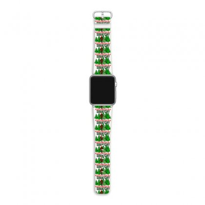 Squatchy Christmas Apple Watch Band Designed By Mirazjason