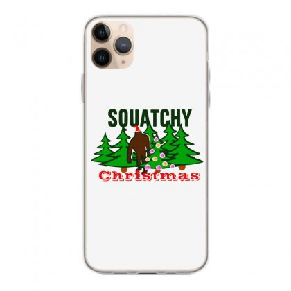 Squatchy Christmas Iphone 11 Pro Max Case Designed By Mirazjason