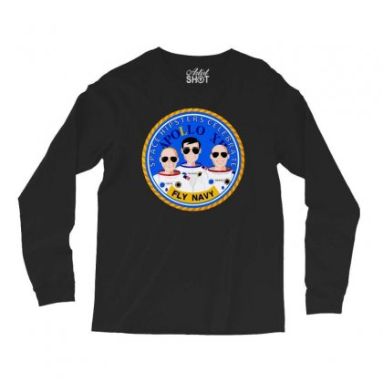 Space Hipsters Apollo 12 Anniversary Long Sleeve Shirts Designed By Mirazjason