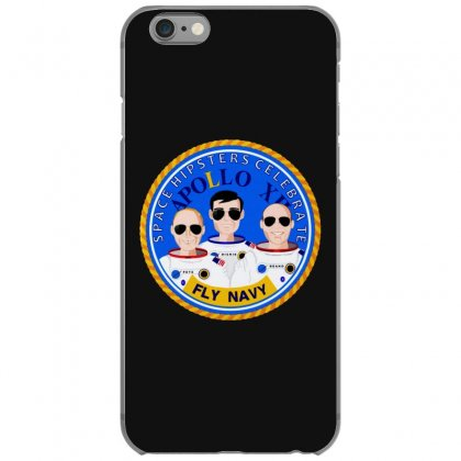 Space Hipsters Apollo 12 Anniversary Iphone 6/6s Case Designed By Mirazjason