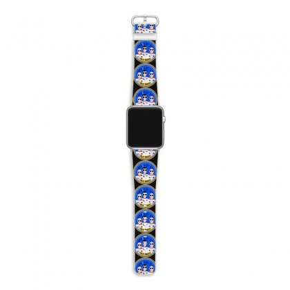 Space Hipsters Apollo 12 Anniversary Apple Watch Band Designed By Mirazjason