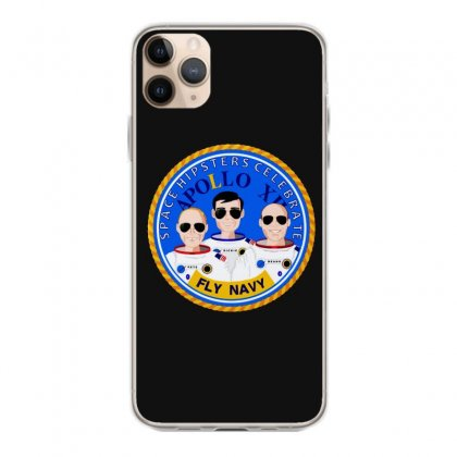 Space Hipsters Apollo 12 Anniversary Iphone 11 Pro Max Case Designed By Mirazjason