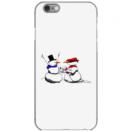 Snowman Gun Point Funny Christmas Iphone 6/6s Case Designed By Mirazjason