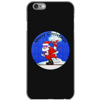 Skiing Santa At The North Pole Iphone 6/6s Case Designed By Mirazjason