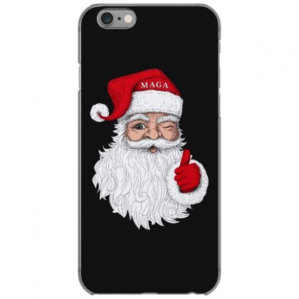 Santa With Maga On His Hat For Christmas Iphone 6/6s Case Designed By Mirazjason