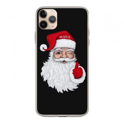 Santa With Maga On His Hat For Christmas Iphone 11 Pro Max Case Designed By Mirazjason
