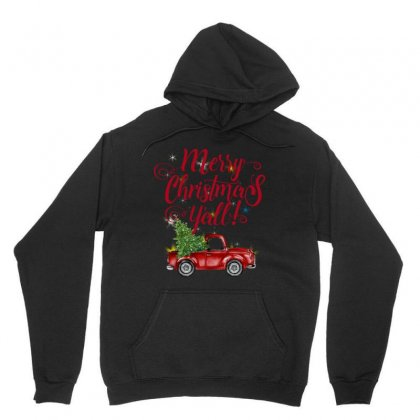 Merry Christmas Y'all Unisex Hoodie Designed By Mirazjason