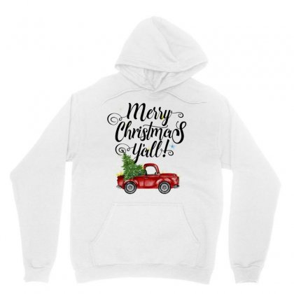 Merry Christmas Y'all For Light Unisex Hoodie Designed By Mirazjason