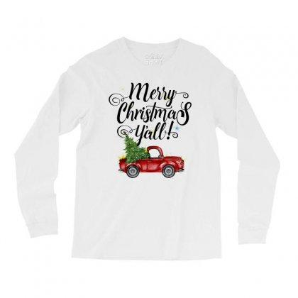Merry Christmas Y'all For Light Long Sleeve Shirts Designed By Mirazjason