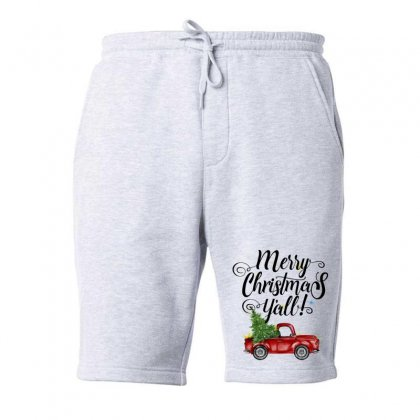 Merry Christmas Y'all For Light Fleece Short Designed By Mirazjason