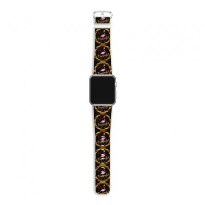 Let's Flamingle! Flamingo Apple Watch Band Designed By Mirazjason