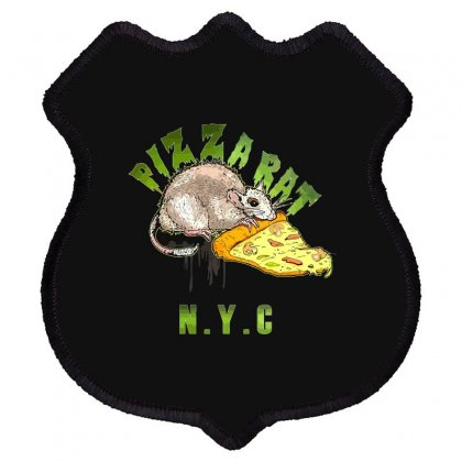 Pizza Rat Nyc Shield Patch
