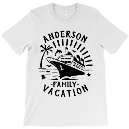 Family Vacation Cruise Ship Trip   In Black T-shirt Designed By Rodgergise