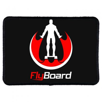 Fly Board Rectangle Patch Designed By Bluebubble