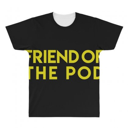 Friend Of The Pod All Over Men's T-shirt Designed By Bluebubble