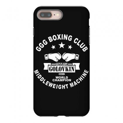 Ggg Boxing Club Iphone 8 Plus Case Designed By Bluebubble